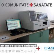 Un nou echipament de testare, pentru anticorpi, instalat la Spitalul Județean Sibiu