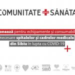O Comunitate pentru Sănătate: Donează pentru spitale și cadre medicale din Sibiu